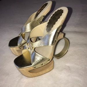 Shoes for the Stars wedges